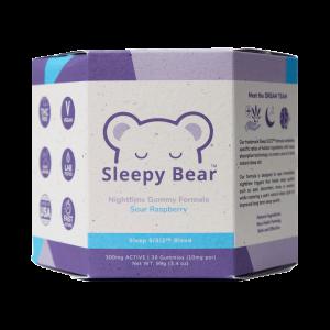 Sleepy Bear 30ct Gummy (CBD_CBN_Melatonin)